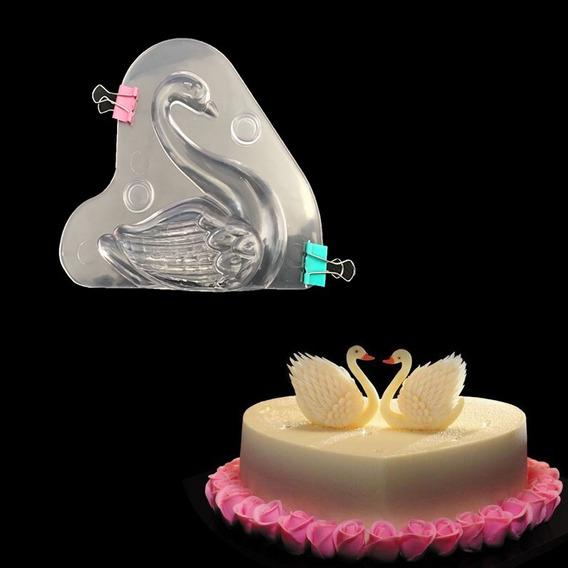 3d Cisne Forma De Sapato De Plástico Policarbonato Molde De