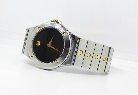 Reloj Movado Museo Acero/oro Caja Y Extensible De Acero.