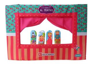 Teatro Titeres De Dedo Circo Castillo Bosque Flores Educando