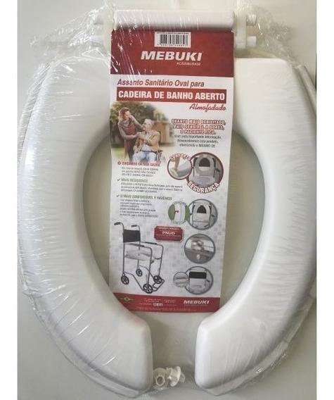 Assento Cadeira De Banho Almofadado Aberto Mebuki