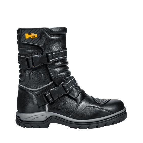 Bota Hiker Hummer 7411 Id-826434 Motociclista Negro Hombre