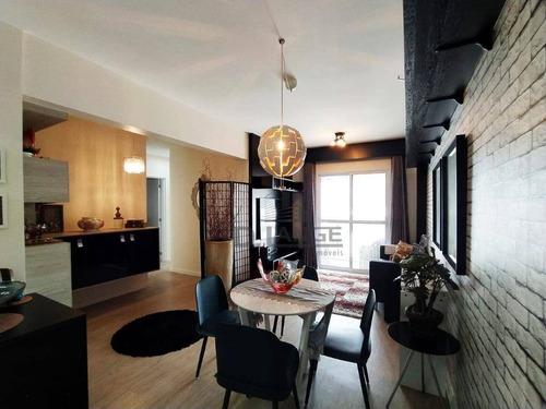 Imagem 1 de 25 de Lindo Apartamento Com 3 Dormitórios 1 Suíte À Venda, 80 M² Por R$ 580.000 - Parque Prado - Campinas/sp - Ap19179