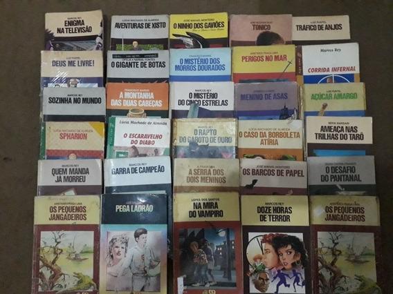Lote 30 Livros Serie Vagalume Sem Repetiçao