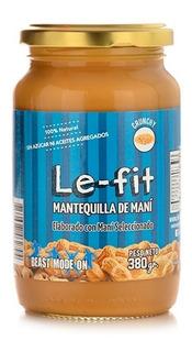Mantequilla Crunchy Maní Sin Azúcar Apto Vegano