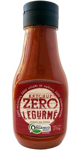 Imagem 1 de 3 de Bisnaga Ketchup Org Zero 270g