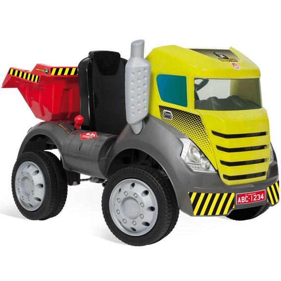Caminhão Bandeirante Pedal Brutus 473 Com Caçamba Basculante