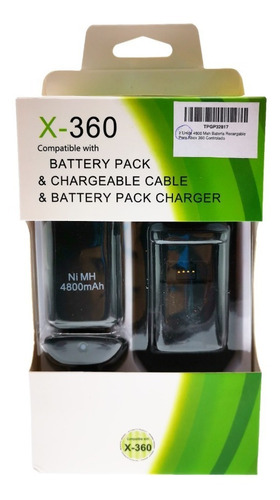 Bateria Recargable Para Control Xbox 360 (cargex360)