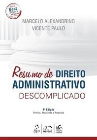 Resumo Direito Administrativo Descomplicado - 11ª Edição