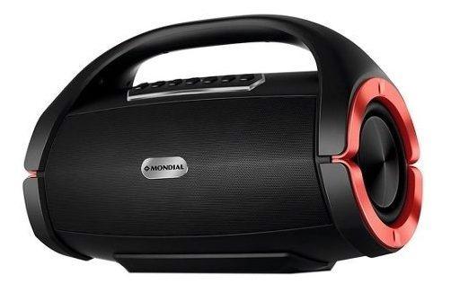 Caixa De Som Bluetooth Portatil 150w Mondial Sk06 Usb Bateri