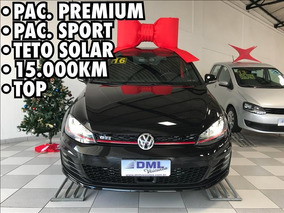 Volkswagen Golf Vw Golf Gti 2.0 Automático Top 2016 Preto -