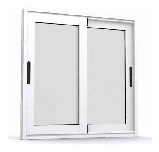 Ventana De Aluminio Antirruido (termoacústica) 120x120 Cm
