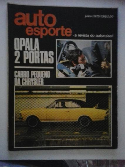 Revista Auto Esporte N° 68 - Junho 1970