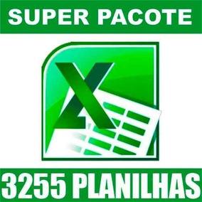 3255 Planilhas Excel 100% Editáveis Frete Grátis Download