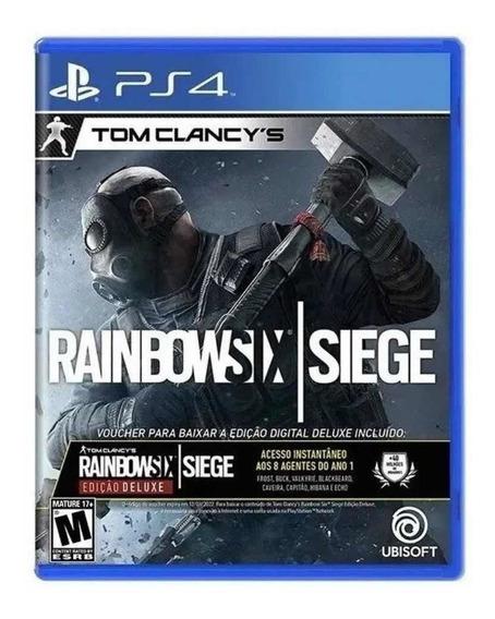 Tom Clancys Rainbow Six Siege Ps4 Novo Lacrado Alemão Games
