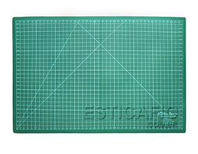 Base De Corte P/ Patchwork 45cm X 60cm Verde