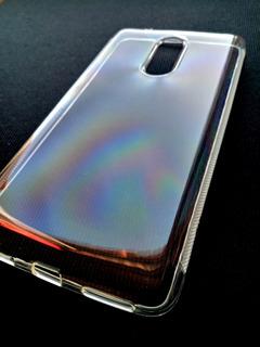 Capa Transparente Lenovo Vibe K6 Plus 5.5 + Película Gel