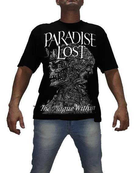 Camisa, Camiseta - Paradise Lost The Plague - Vários Modelos