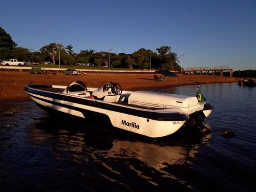 Imagem 1 de 6 de Lancha Megabess  Super Boat