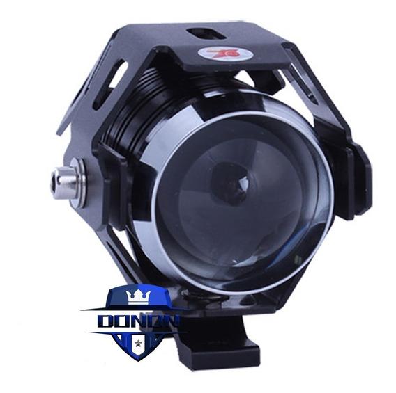 Par Farol Milha Universal Led Cree U5 Aux Moto 12v~24v Xenon