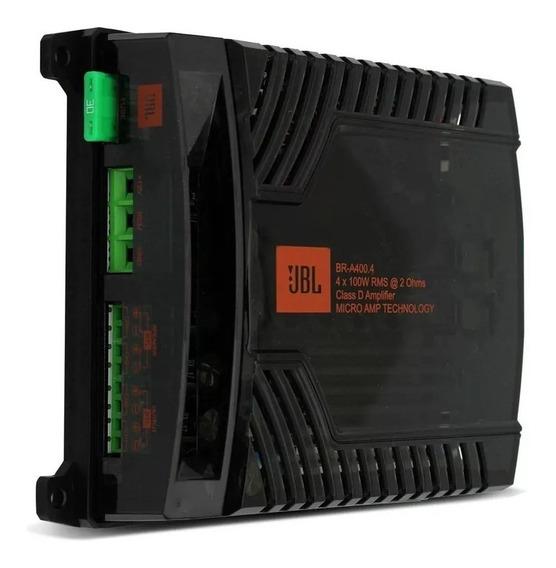 Módulo Amplificador Jbl Selenium Br-a 400.4 400w Rms 4 Canal