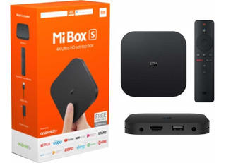 Xiaomi Mi Box S Android Tv Box Youtube Netflix Movistar