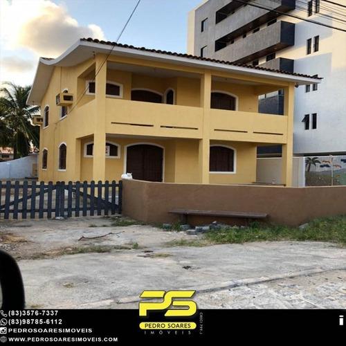 Imagem 1 de 10 de Casa Com 5 Dormitórios À Venda, 425 M² Por R$ 1.200.000 - Camboinha - Cabedelo/pb - Ca1042
