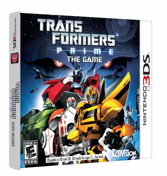 Transformers Prime: The Game - 3ds - Ponta Entrega!