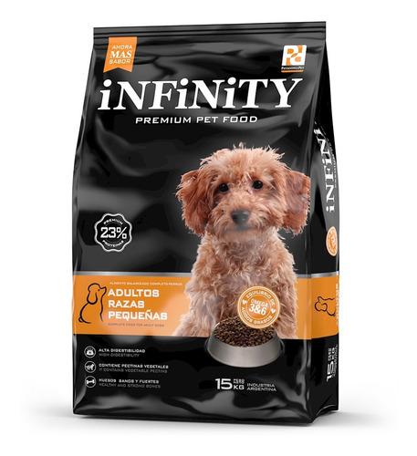 Alimento Perros Razas Pequeñas Infinity Premium 15 Kgs