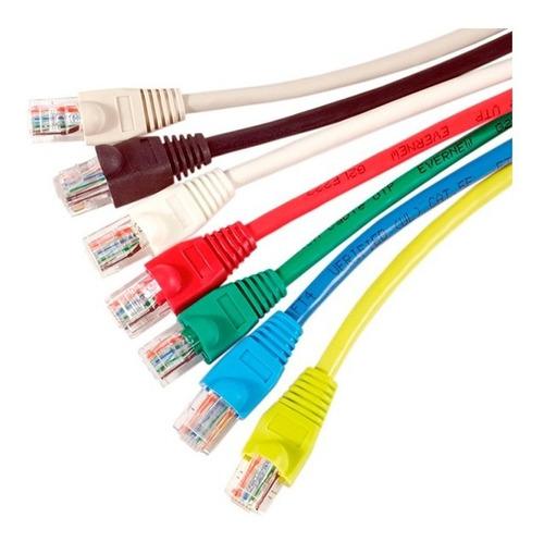 Cable De Red Patchcord Cca 1,00m Verde Dracma