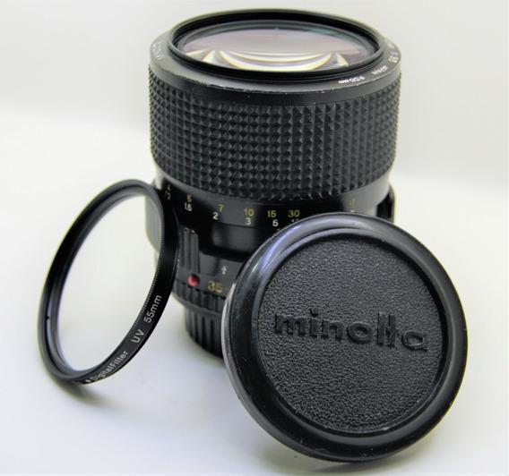 Lente Minolta Md Zoom 35-70mm 1:3.5