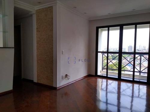 Apartamento Com 3 Dormitórios E 2 Vagas De Garagem - Chácara Inglesa - Ap10977