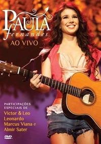 Paula Fernandes Ao Vivo (dvd)- Promoção