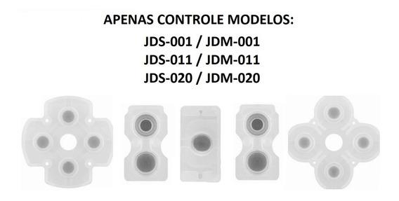Borracha Condutiva Controle Ps4 Jds Jdm 001 011 020