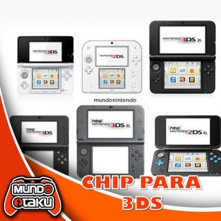 Chip 3ds 2ds 3ds Xl Todas Las Versiones + Regalo. Unbrick