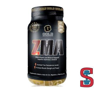 Zma Aumentador De Testosterona 60 Caps Gold Nutrition