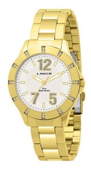 Relógio Lince Feminino Lrg4162l K022b2kx Lindo De Vitrine