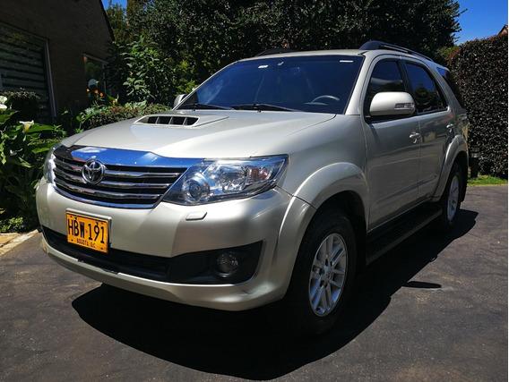 Toyota Fortuner Srv Diesel Blindado Nivel 3