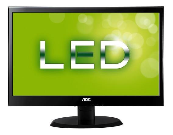 Kit C/ Teclado/mouse/ Monitor Para Pc Led 18.5 Aoc E970swnl