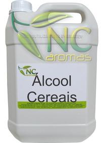 Alcool De Cereais 5l Puro Alcool Cereais 5lt