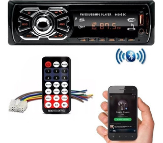 Som Automotivo Carro Bluetooth Mp3 Usb Sd Card Radio Fm Bt
