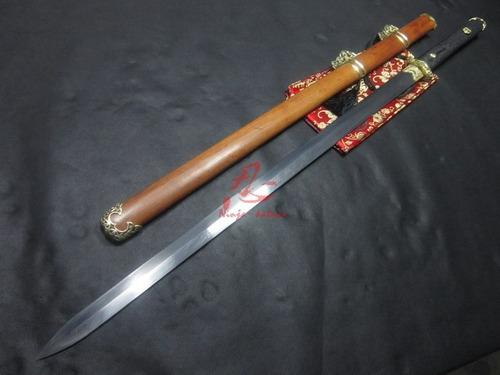 Imagem 1 de 10 de Jian Tradicional Espada Chinesa Tai Chi Kung Fu Certificado