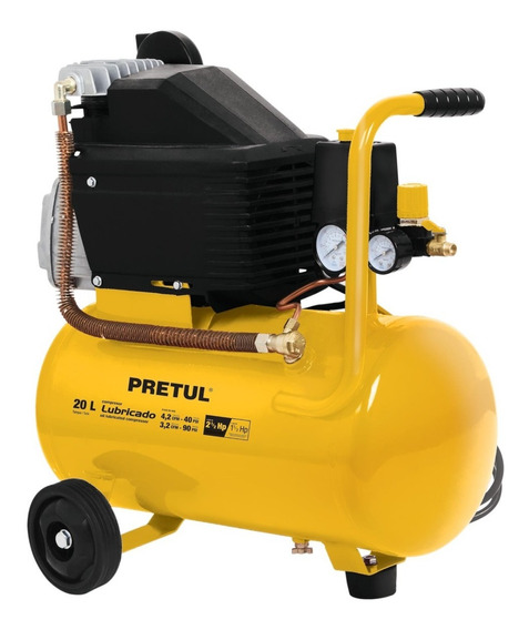Compresor, 20 L, 2-1/2 Hp (potencia Máxima ),120 V 23065