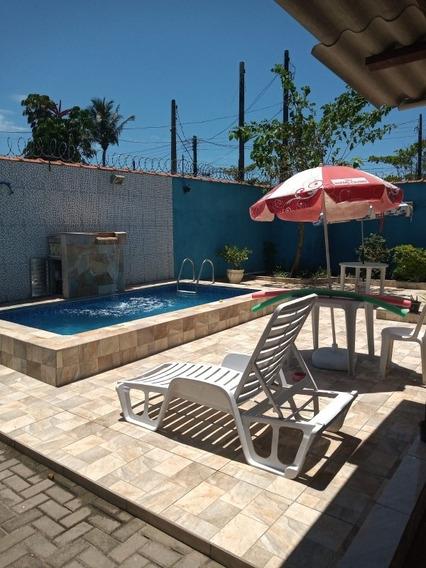 Casa Com Piscina Em Itanhaém Temporada