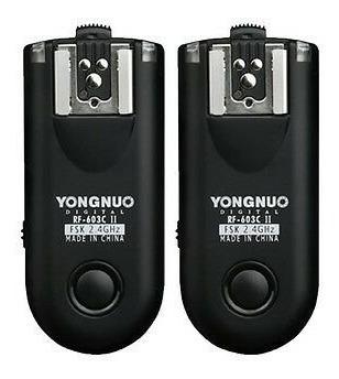 Radio Flash Yongnuo Rf603 Il N1 Para Nikon D800 D300 D1x D3