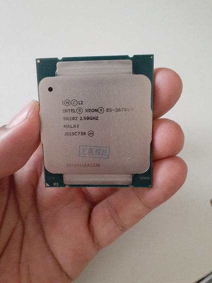 Processador Xeon E5 2678 V3 Lga 2011 - 24 Threads