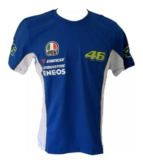 Camiseta Valentino Rossi Camisa - Moto Gp Motogp Ref.205