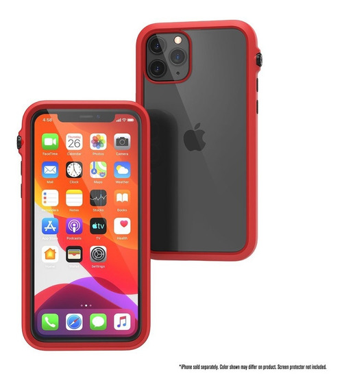 Protector Carcasa iPhone 11 Pro Catalyst Impact Case Red