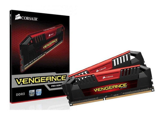 Memória Corsair Vengeance Pro 16gb(2x8) 2400 Mhz Vermelha