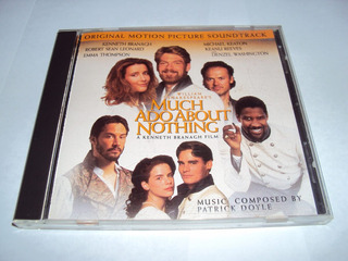 Much Ado About Nothing - Motion Picture- Cd Made In Usa 1993
