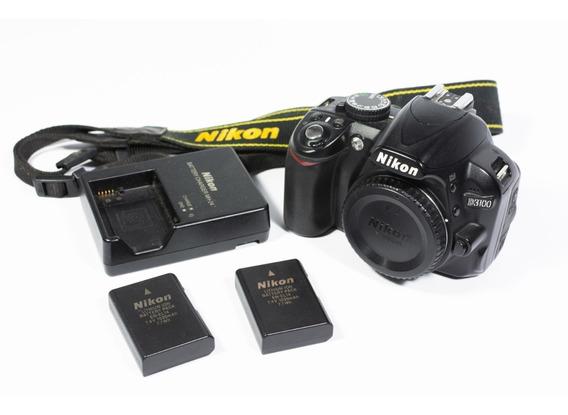 Nikon D3100 Somente Corpo + 2 Baterias